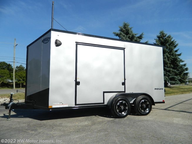 2021 SHOCKWAVE UTV access DOOR by Impact Trailers from HW Motor Homes, Inc. in Canton, Michigan