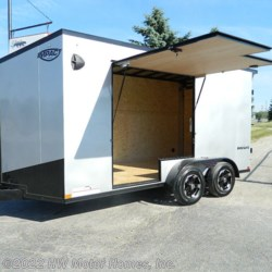 New 2021 Impact Trailers SHOCKWAVE UTV access DOOR For Sale by HW Motor Homes, Inc. available in Canton, Michigan
