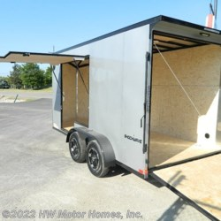 2021 Impact Trailers SHOCKWAVE UTV access DOOR  - Cargo Trailer New  in Canton MI For Sale by HW Motor Homes, Inc. call 800-334-1535 today for more info.