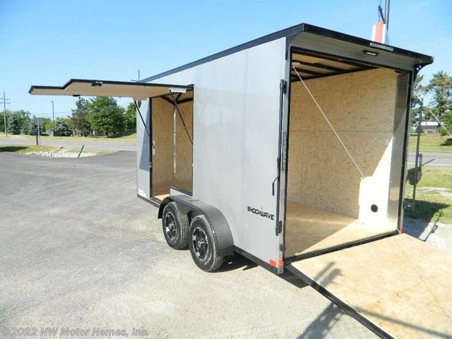 New 2021 Impact Trailers SHOCKWAVE 714 - UTV access DOOR available in Canton, Michigan