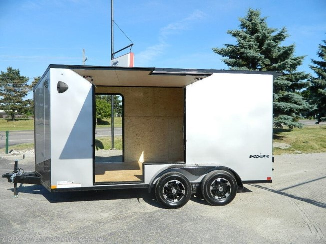 2021 Impact Trailers SHOCKWAVE 714 - UTV access DOOR - New Cargo Trailer For Sale by HW Motor Homes, Inc. in Canton, Michigan