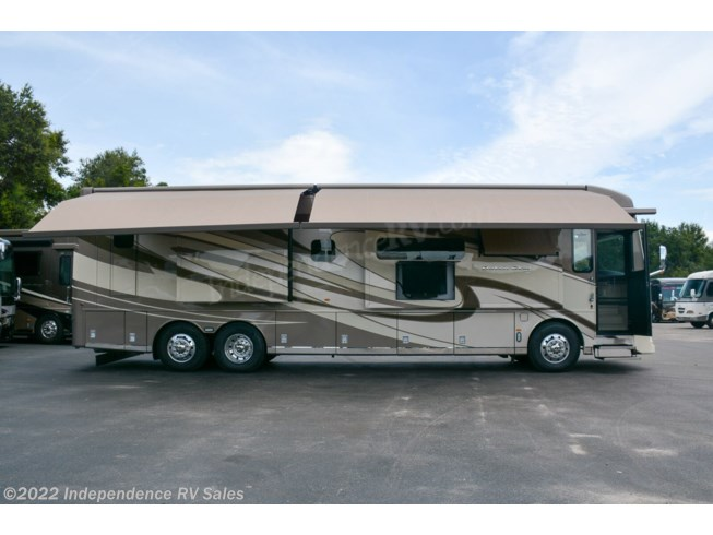 2020 Newmar Dutch Star 4081, SOLD - New Diesel Pusher For Sale by Independence RV Sales in Winter Garden, Florida features 50 Amp Service, 6-Way Power Driver's Seat, Air Conditioning, Air Mattress, Alloy Wheels, AM/FM/CD, Automatic Leveling Jacks, Auxiliary Battery, Backup Camera, Backup Monitor, Bath & 1/2, Batteries, Bluetooth Stereo, Blu-Ray Player, Built-In Safe, Cable Prepped, Central Vacuum, CO Detector, Computer Station, Convection Microwave, Day/Night Shades, Diamond Shield Paint Protection Film, Dishwasher, Dryer, Egress Door, Electric Heat, Enclosed Water Tank, Euro Booth, Exterior Freezer, Exterior Speakers, External Shower, Fantastic Fan, Fiberglass Sidewalls, Fire Extinguisher, Fold and Tumble Sofa, Front Fiberglass Cap w/Window, Full Body Paint, Generator, Glass Shower Door, GPS Navigation, Heat Pump, Heated Floor, Hitch, Hydraulic Jack, Hydronic Heat, Icemaker, Inverter, Keyless Entry, King Size Bed, Kitchen Sink, Leather Furniture, LED HDTV, LED Lights, Non-Smoking Unit, Outside Entertainment Center, Overhead Cabinetry, Pantry, Pass Thru Storage, Pocket Door(s), Power Awning, Power Entrance Step, Power Seats, Recliner(s), Residential Refrigerator, Roof Deck, Satellite Prepped, Screen Door, Second Roof A/C, Self Contained, Shower, Side View Cameras, Slideout, Slide-out Awning, Slide-out Battery Tray, Smoke Detector, Solar Panels, Solar Prep, Solid Surface Countertops, Sound Bar, Stainless Appliances, Stove Cover, Stove Top Burner, Televator TV, Thermal Pane Windows, Tinted Windows, Toilet, TV Antenna, Upgraded Insulation Package, Vanity, Wardrobe(s), Washer
