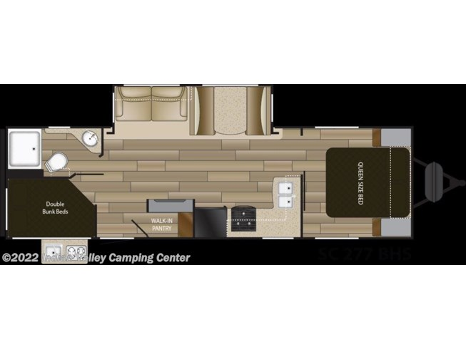 2019 Shadow Cruiser SC277BHS by Cruiser RV from Indian Valley Camping Center in Souderton, Pennsylvania