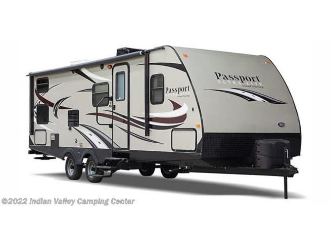 Stock Image for 2017 Keystone Passport Ultra Lite Grand Touring 2400BH (options and colors may vary)