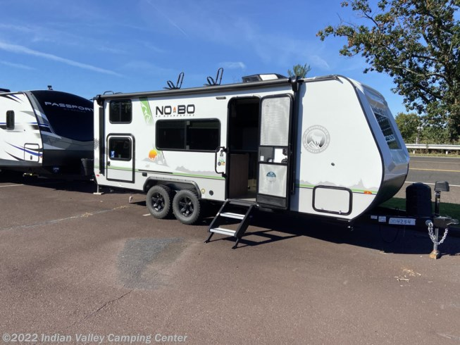 2021 Forest River No Boundaries NB19.3 - New Travel Trailer For Sale by Indian Valley Camping Center in Souderton, Pennsylvania features Queen Bed, Medicine Cabinet, LP Detector, Air Conditioning, Water Heater