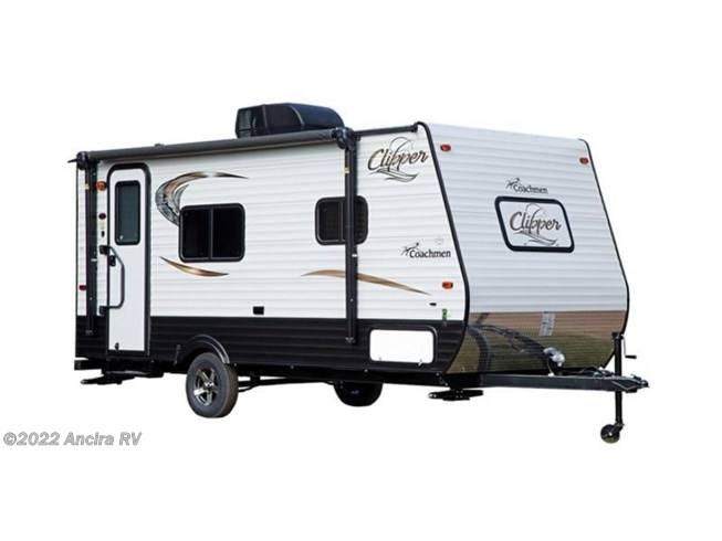 Stock Image for 2016 Coachmen Clipper Ultra-Lite 17FQ (options and colors may vary)