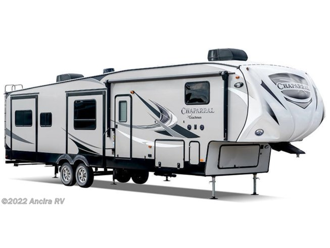 Stock Image for 2020 Coachmen Chaparral 392MBL (options and colors may vary)
