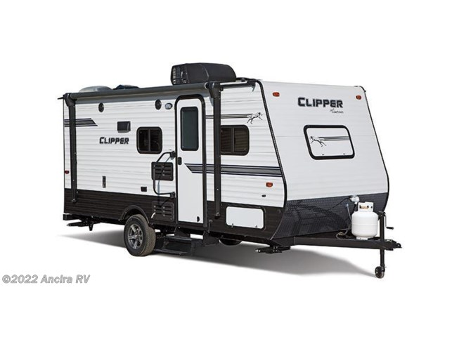 Stock Image for 2019 Coachmen Clipper Ultra-Lite 17FQ (options and colors may vary)