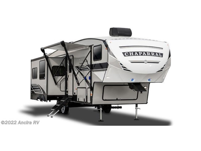Stock Image for 2021 Coachmen Chaparral Lite 30RLS (options and colors may vary)
