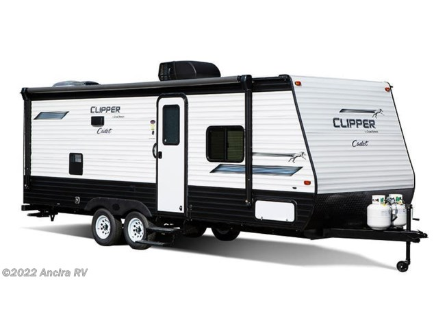 Stock Image for 2021 Coachmen Clipper Cadet 21CBH (options and colors may vary)