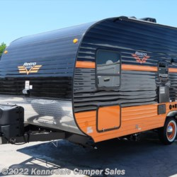"Kennedale Camper Sales 2018 White Water Retro 820R 20'10"" **TOYBOX**  Toy Hauler by Riverside RV 