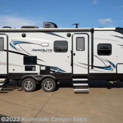 "2018 Dutchmen Aerolite Luxury Class 242BHSL 28'6""  - Travel Trailer New  in Kennedale TX For Sale by Kennedale Camper Sales call 877-322-6737 today for more info."