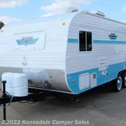 "Kennedale Camper Sales 2018 White Water Retro 195 24'7""  Travel Trailer by Riverside RV 