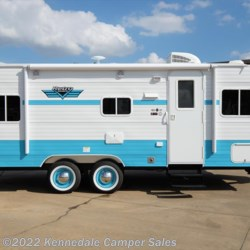 "2018 Riverside RV White Water Retro 195 24'7""  - Travel Trailer New  in Kennedale TX For Sale by Kennedale Camper Sales call 877-322-6737 today for more info."