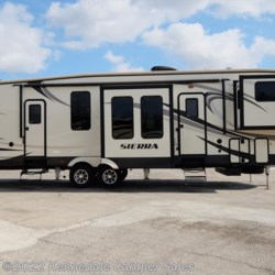 "2016 Forest River Sierra 377FLIK 41'8""  - Fifth Wheel Used  in Kennedale TX For Sale by Kennedale Camper Sales call 877-322-6737 today for more info."