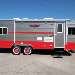 2018 Riverside RV White Water Retro 199FKS  - Travel Trailer New  in Kennedale TX For Sale by Kennedale Camper Sales call 877-370-6407 today for more info.