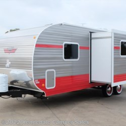 "Kennedale Camper Sales 2018 White Water Retro 265BH 27'6""  Travel Trailer by Riverside RV 