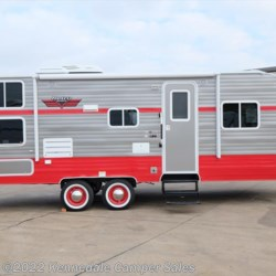 "2018 Riverside RV White Water Retro 265BH 27'6""  - Travel Trailer New  in Kennedale TX For Sale by Kennedale Camper Sales call 877-322-6737 today for more info."