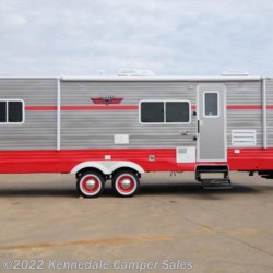 "2018 Riverside RV White Water Retro 285FK 30'8""  - Travel Trailer New  in Kennedale TX For Sale by Kennedale Camper Sales call 877-370-6407 today for more info."