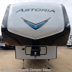 "Kennedale Camper Sales 2018 Aerolite Astoria 2513RLF 30'6""  Fifth Wheel by Dutchmen 