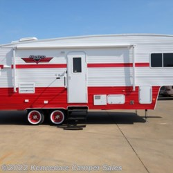 "2017 Riverside RV White Water Retro 526RK 29'3"" **Rear Kitchen**  - Fifth Wheel New  in Kennedale TX For Sale by Kennedale Camper Sales call 877-370-6407 today for more info."