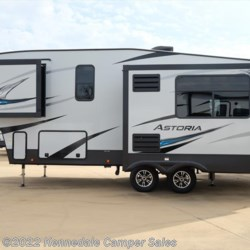 "2018 Dutchmen Aerolite Astoria 2513RLF 30'6""  - Fifth Wheel New  in Kennedale TX For Sale by Kennedale Camper Sales call 877-370-6407 today for more info."