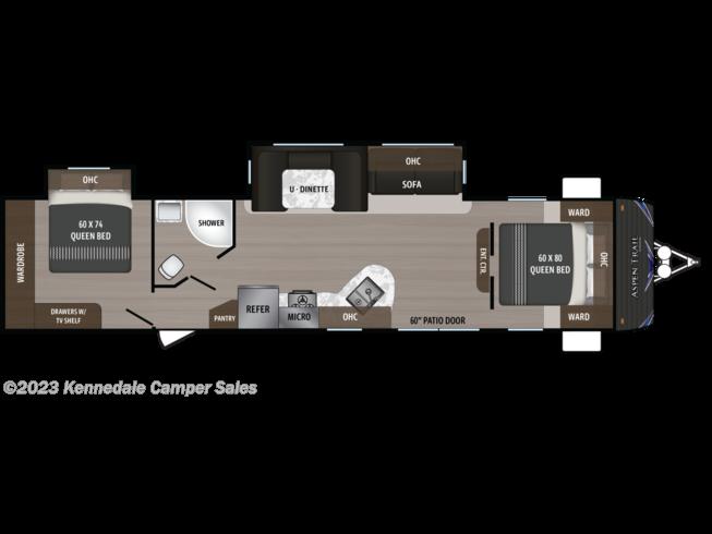 2019 Dutchmen Aspen Trail 3600qbds 2 Queen Bedrooms Rv For Sale In Kennedale Tx 76060 922739 Rvusa Com Classifieds