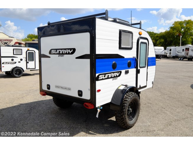 New 2020 Sunset Park RV SunRay 109 available in Kennedale, Texas