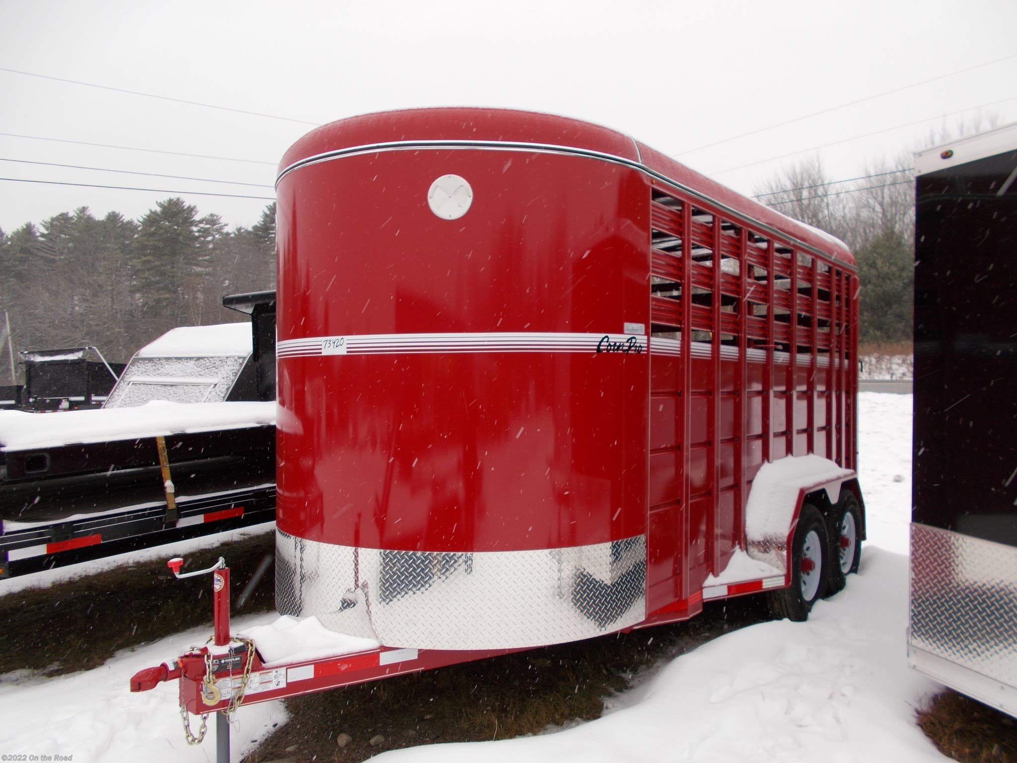 Used corn pro utility trailers for sale
