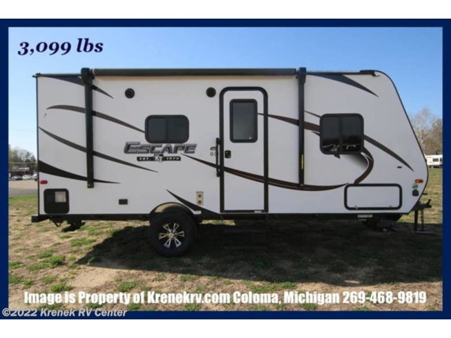 Used 2019 K-Z Escape E181RB available in Coloma, Michigan