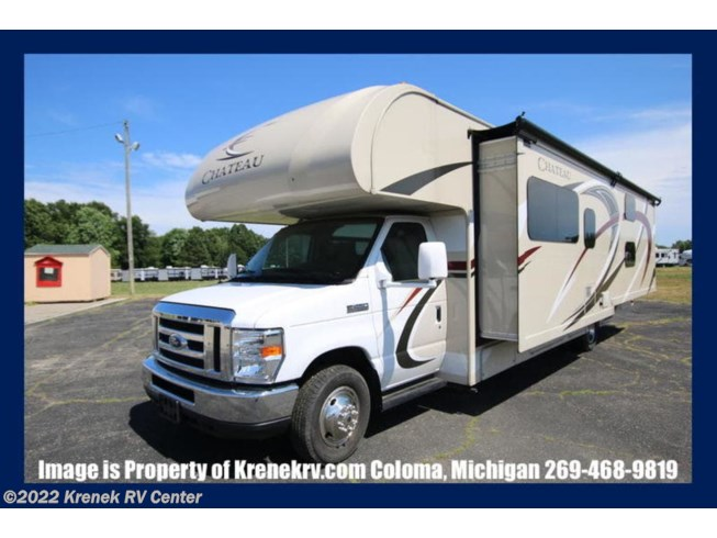 Used 2017 Thor Motor Coach Chateau 31E Bunkhouse Ford available in Coloma, Michigan
