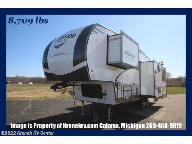 New 2020 Forest River Rockwood Ultra Lite 2889WS available in Coloma, Michigan