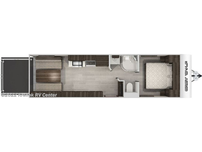 2020 Forest River Cherokee Grey Wolf 26RR - New Toy Hauler For Sale by Krenek RV Center in Coloma, Michigan