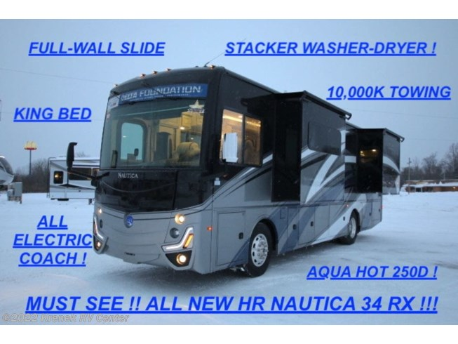 New 2021 Holiday Rambler Nautica 34RX available in Coloma, Michigan
