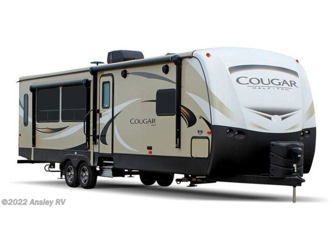 Stock Image for 2019 Keystone Cougar Half-Ton 26RBS (options and colors may vary)