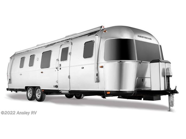 Stock Image for 2020 Airstream Classic 30RB (options and colors may vary)