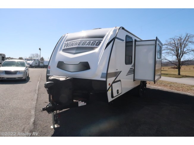 2021 Winnebago Micro Minnie 2306BHS - New Travel Trailer For Sale by Ansley RV in Duncansville, Pennsylvania features Air Conditioning, Microwave, CO Detector, Exterior Speakers, Roof Vents