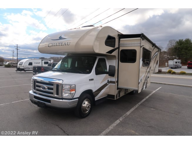 2020 Thor Motor Coach Chateau 24F - Used Class C For Sale by Ansley RV in Duncansville, Pennsylvania features Furnace, Non-Smoking Unit, Stove Top Burner, Ladder, Converter