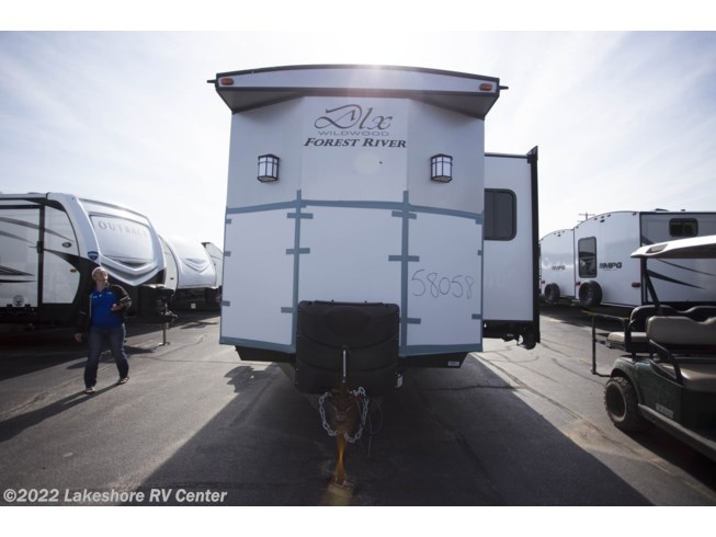 2019 Forest River Wildwood DLX 4002Q - New Park Model For Sale by Lakeshore RV Center in Muskegon, Michigan