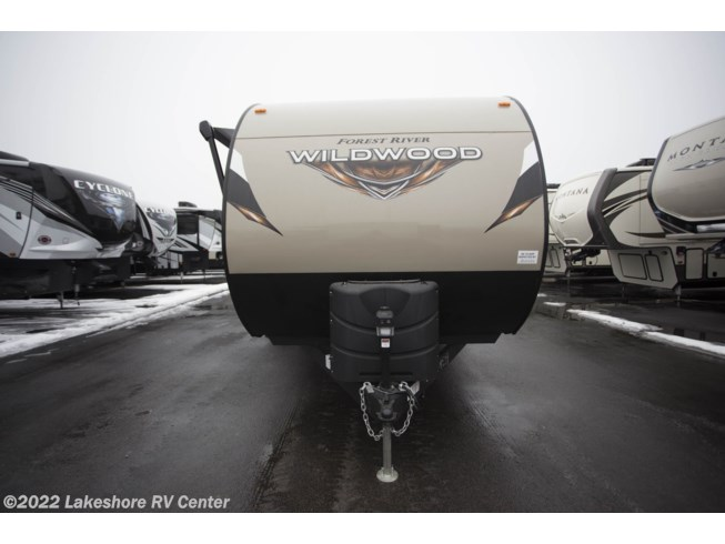 2018 Forest River Wildwood 27REI - New Travel Trailer For Sale by Lakeshore RV Center in Muskegon, Michigan