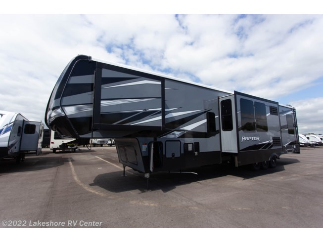 2020 Raptor 423 by Keystone from Lakeshore RV Center in Muskegon, Michigan
