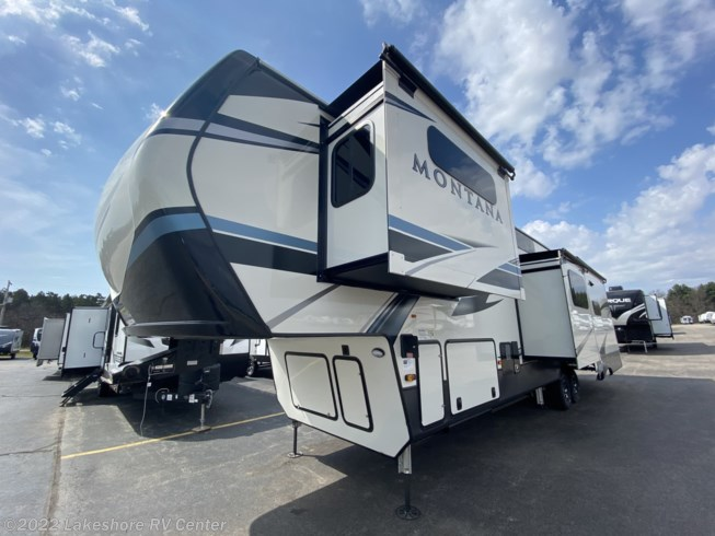 2021 Montana 3855BR by Keystone from Lakeshore RV Center in Muskegon, Michigan