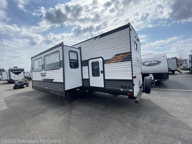 New 2021 Forest River Wildwood 29VBUD available in Muskegon, Michigan
