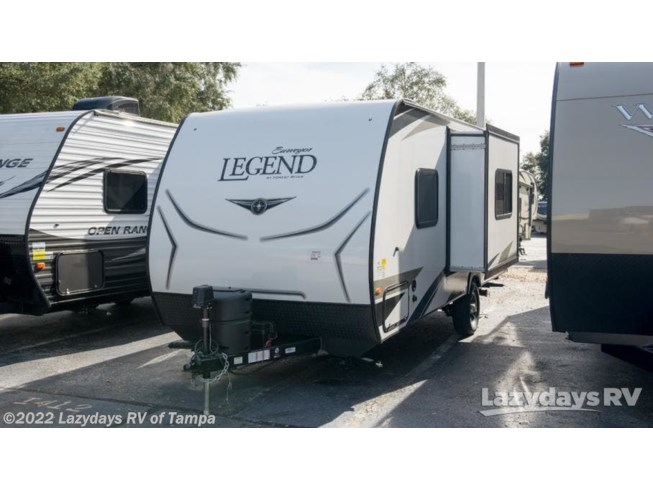2019 Forest River Surveyor LE 19RBLE - New Travel Trailer For Sale by Lazydays RV of Tampa in Seffner, Florida
