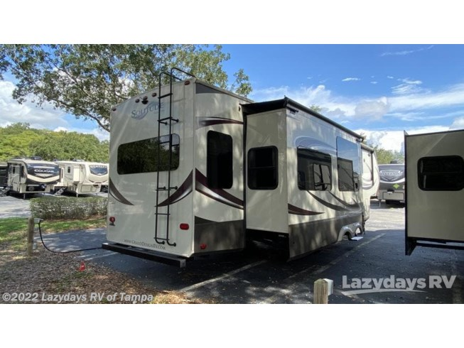Used 2015 Grand Design Solitude 369RL available in Seffner, Florida