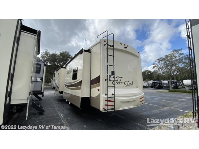 Used 2019 Forest River Cedar Creek Hathaway Edition 38FLX available in Seffner, Florida