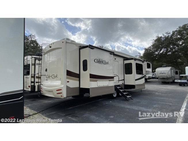 2019 Cedar Creek Hathaway Edition 38FLX by Forest River from Lazydays RV of Tampa in Seffner, Florida