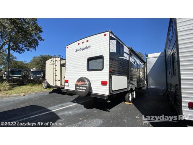 2016 Keystone Springdale 220BHWE - Used Travel Trailer For Sale by Lazydays RV of Tampa in Seffner, Florida