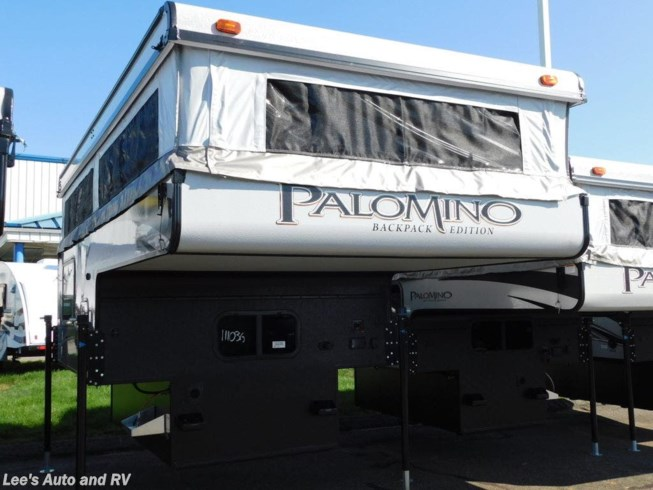 New 2020 Palomino Backpack Truck Camper Soft Side SS-550 available in Ellington, Connecticut