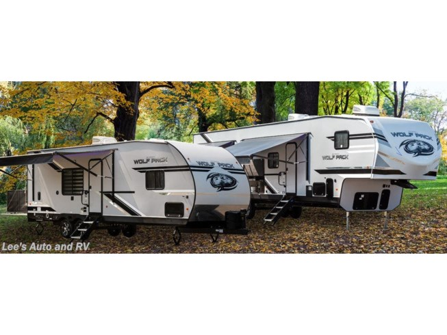 2020 Forest River Cherokee Wolf Pack 325PACK13 - New Fifth Wheel For Sale by Lee's Auto and RV Ranch in Ellington, Connecticut